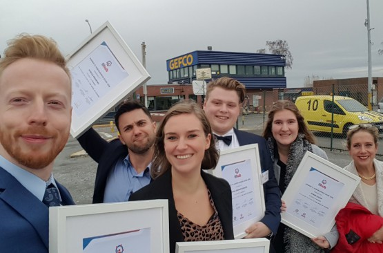 Howest-studenten Logistiek Management winnen TL HUB Business Game